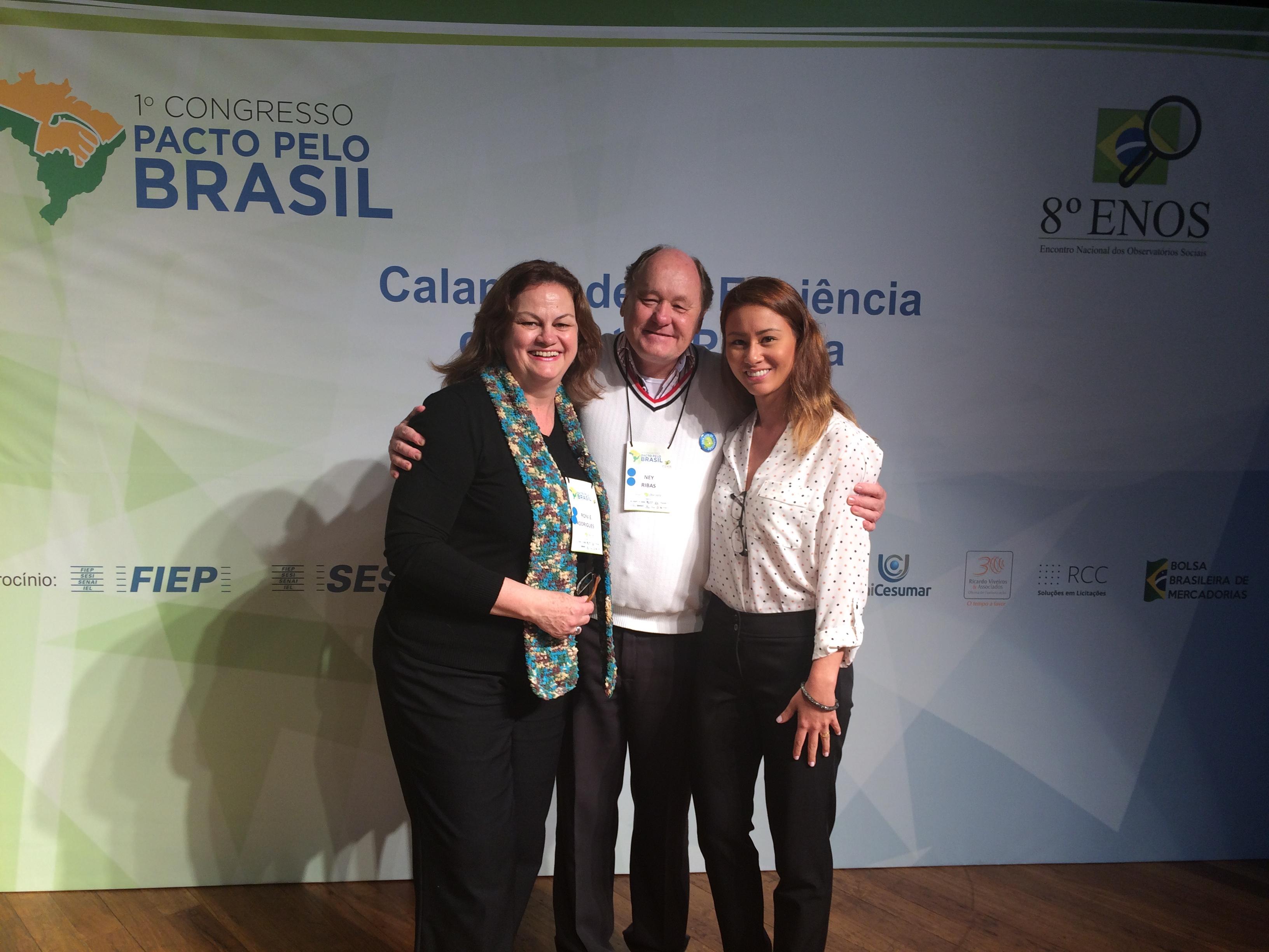 Palestra no 1º Congresso Pacto pelo Brasil