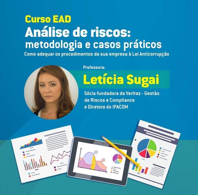 Divulgação curso análise de riscos Letícia Sugai e OSB