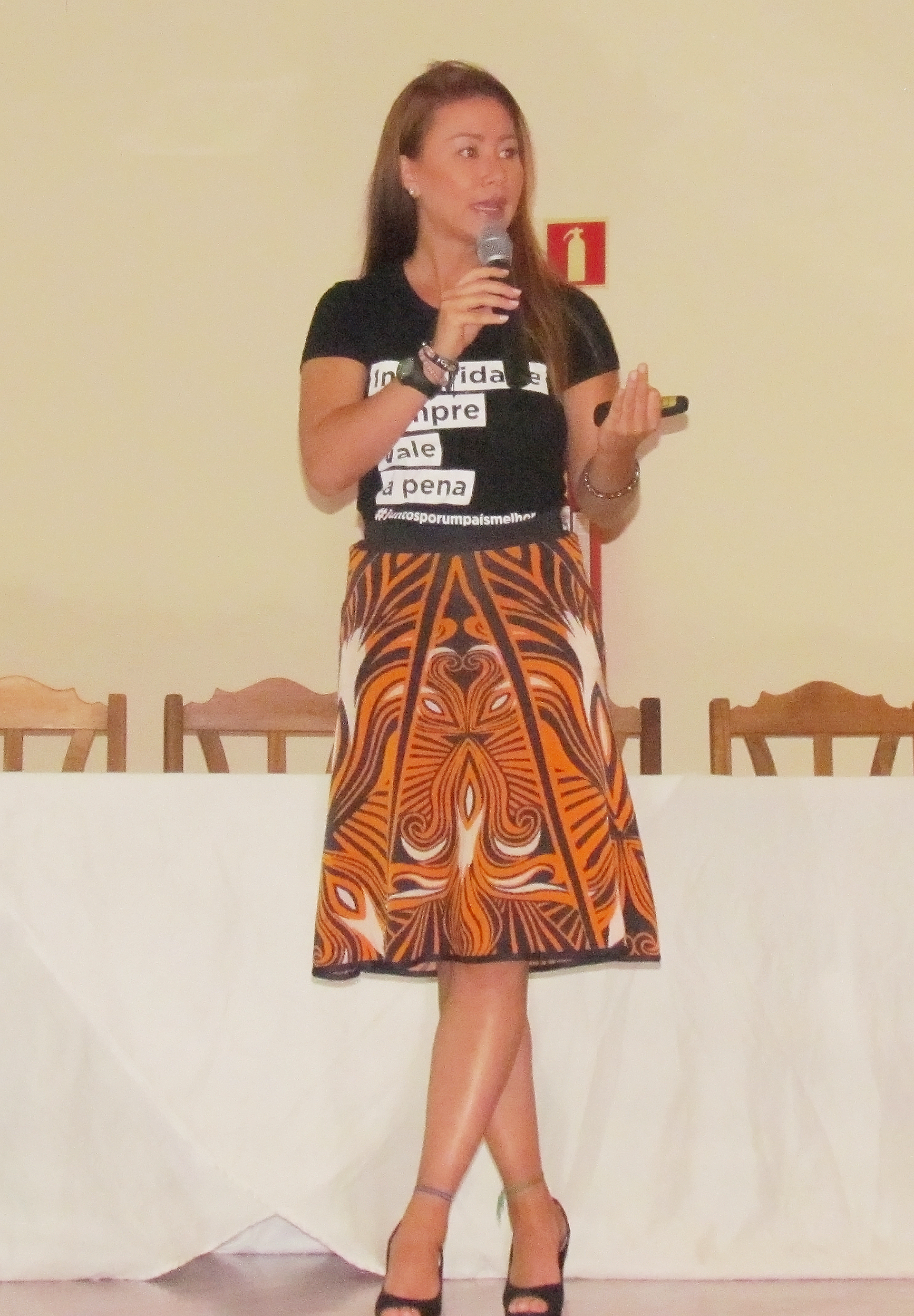 Letícia Sugai palestra Guarapuava